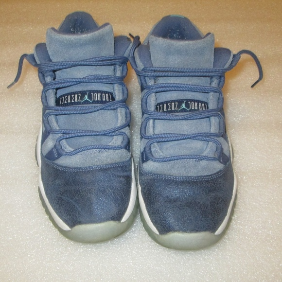 b24c8aa72f015c Jordan Shoes - Air Jordan 11 Retro Low GS  Blue Moon